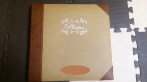 スタジオアリスのアルバムに自分でプリントした写真を綴じる方法